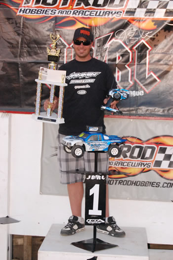 Chad Bradley wins JBRL Series 2010